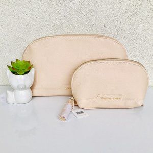 Tartan + Twine Round Clutch Cosmetic Bags Set of 2